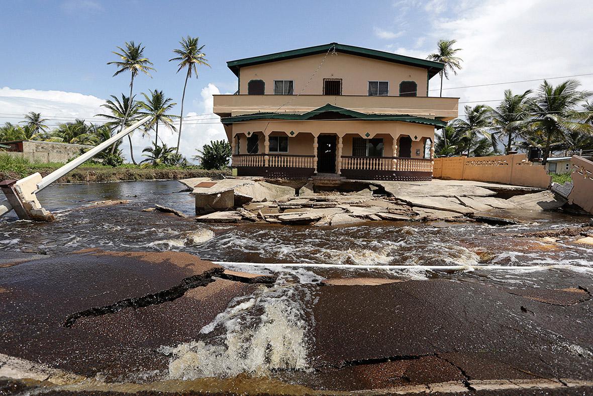 trinidad floods