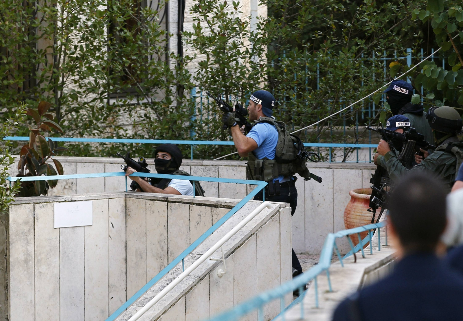 Terror Attack in Jerusalem Synagogue as Men Open Fire Killing At least Five People
