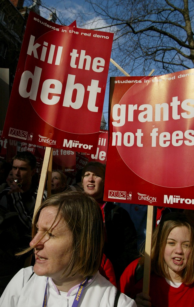 Student Protest Against Tuition Fees