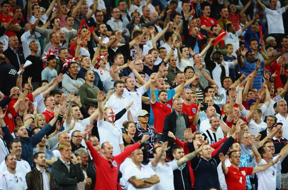 England Fans at Wembley