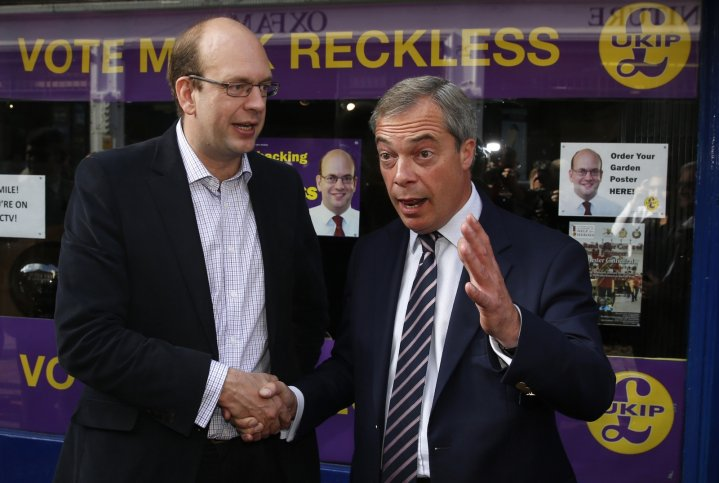 Reckless and Farage