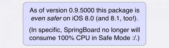 iOS 8/8.1 Jailbreak: Saurik Releases Substrate Safe Mode v0.9.5000 with Fixes for CPU Usage Issues