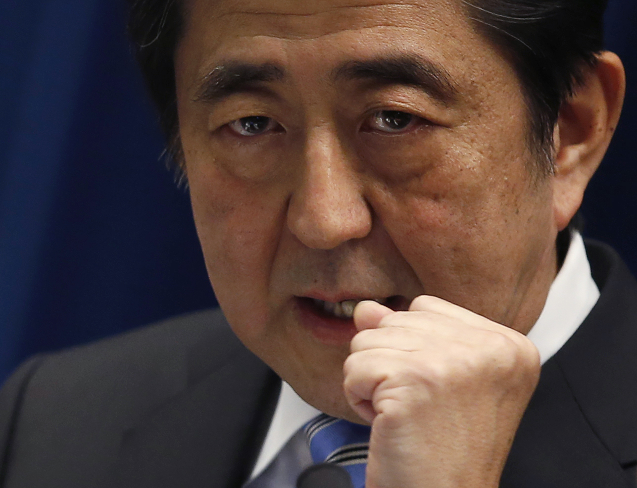 Japan's Leader Shinzo Abe