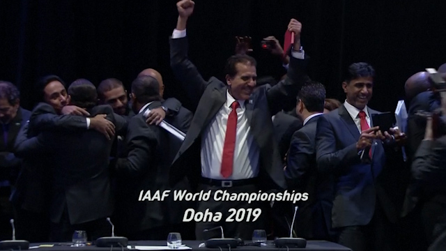 Doha Wins World Athletics Championships in 2019
