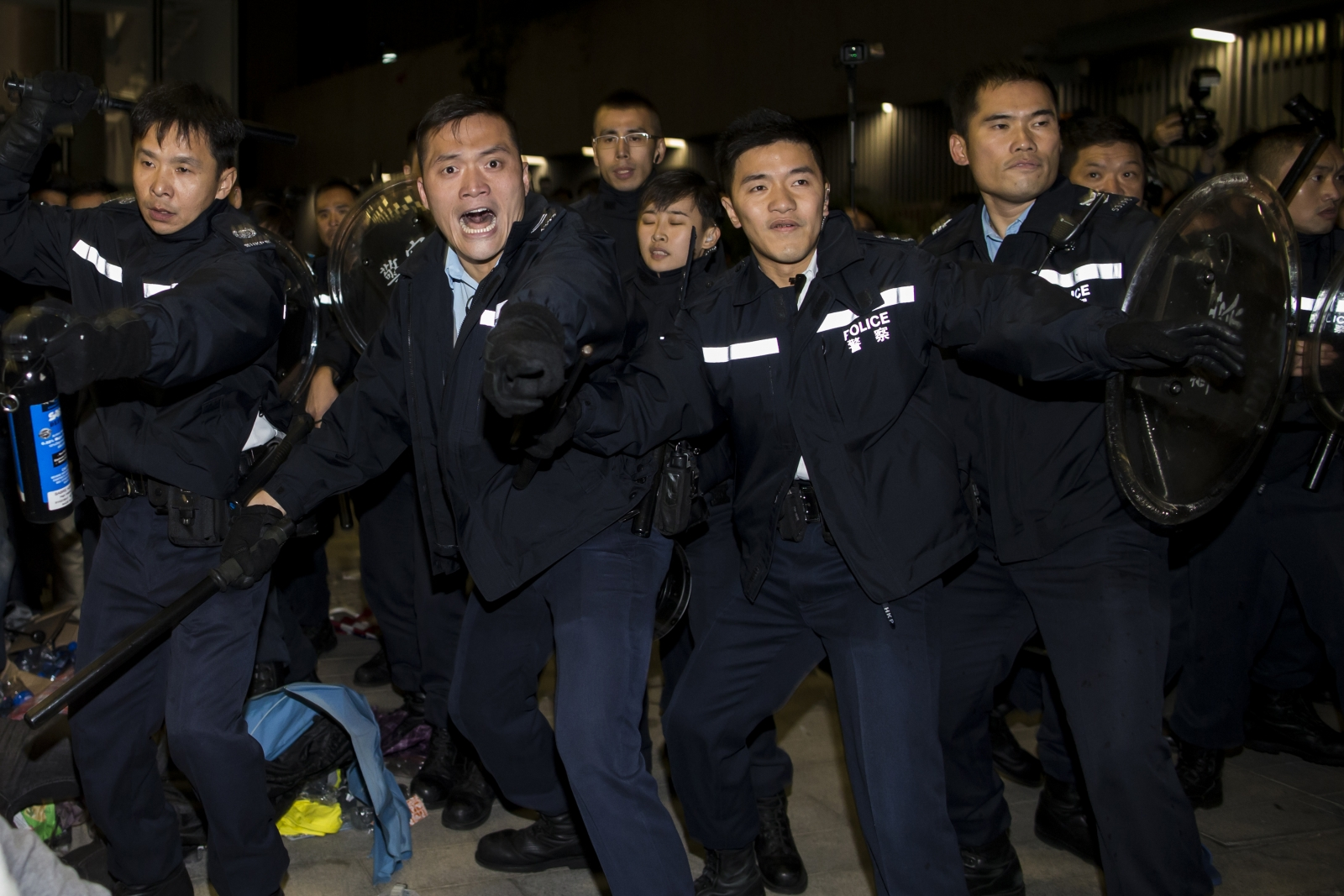 Hong Kong pro-democracy protests