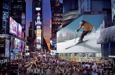 Google Pays $4M to rent world\'s biggest billboard in Times Square for Christmas