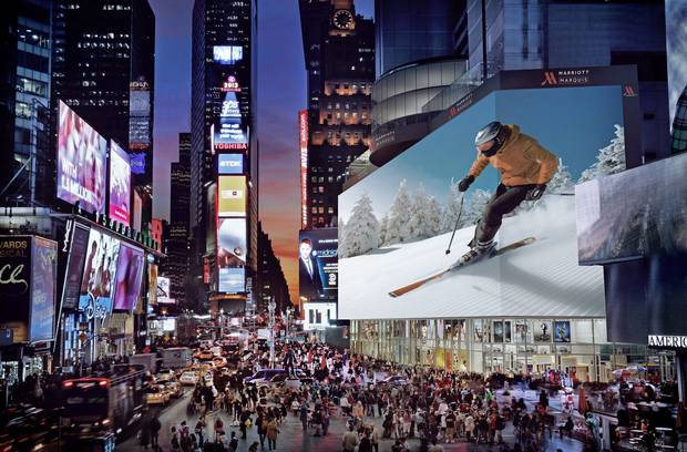 Google Pays $4M to rent world's biggest billboard in Times Square for Christmas