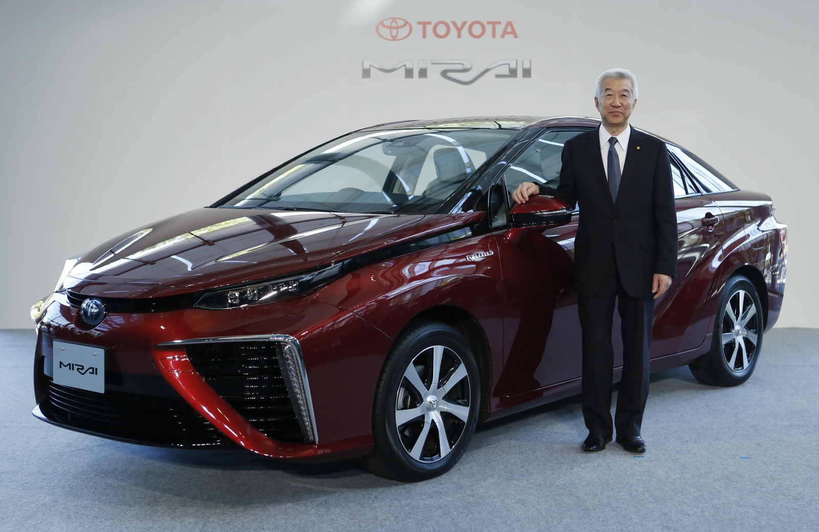 toyota to start sale of hydrogen powered cars from december. Black Bedroom Furniture Sets. Home Design Ideas