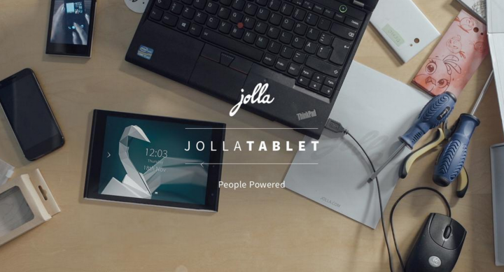Jolla Sailfish 2.0 Tablet