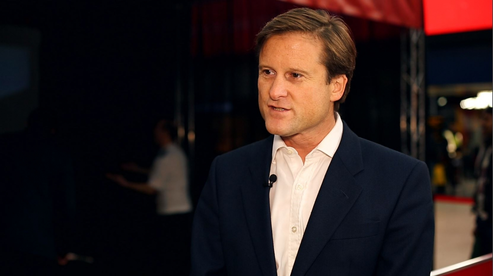 Chris Hill CFO at IG Group speaks to IBTimes TV