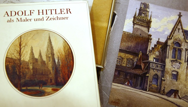 Hitler's Watercolour painting