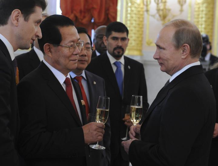 Vladimir Putin Kim Hyun-joon