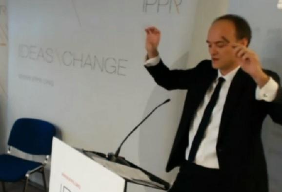 Former special advisor Dominic Cummings berates Cameron during IPPR address