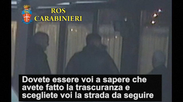 Mafia Initiation Ceremony: First Ever Video of Italian Gangsters Pledging Deadly Allegiance