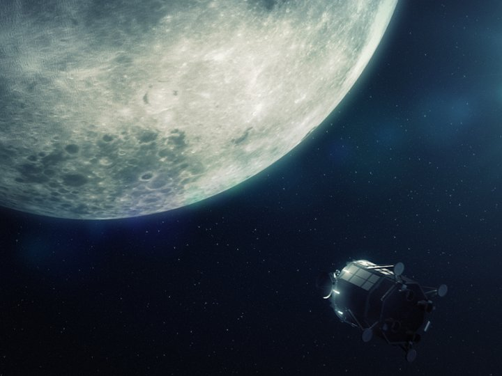In the future, the moon could be used for launching interplanetary space exploration missions