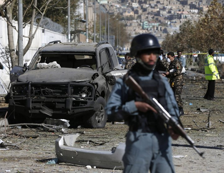 Kabul Bomb Attack Afghanistan