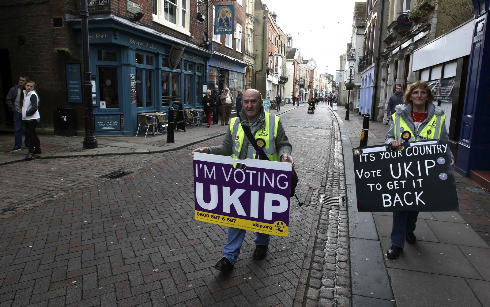 Ukip Aims for Second Parliamentary Seat in Rochester