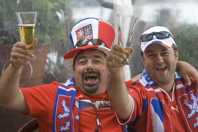 Czech Republic consumed the most beer per head with 143 litres
