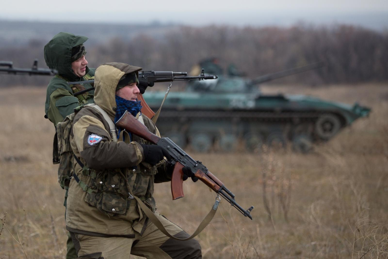 OSCE Convoy attacked eastern Ukranie Donetsk