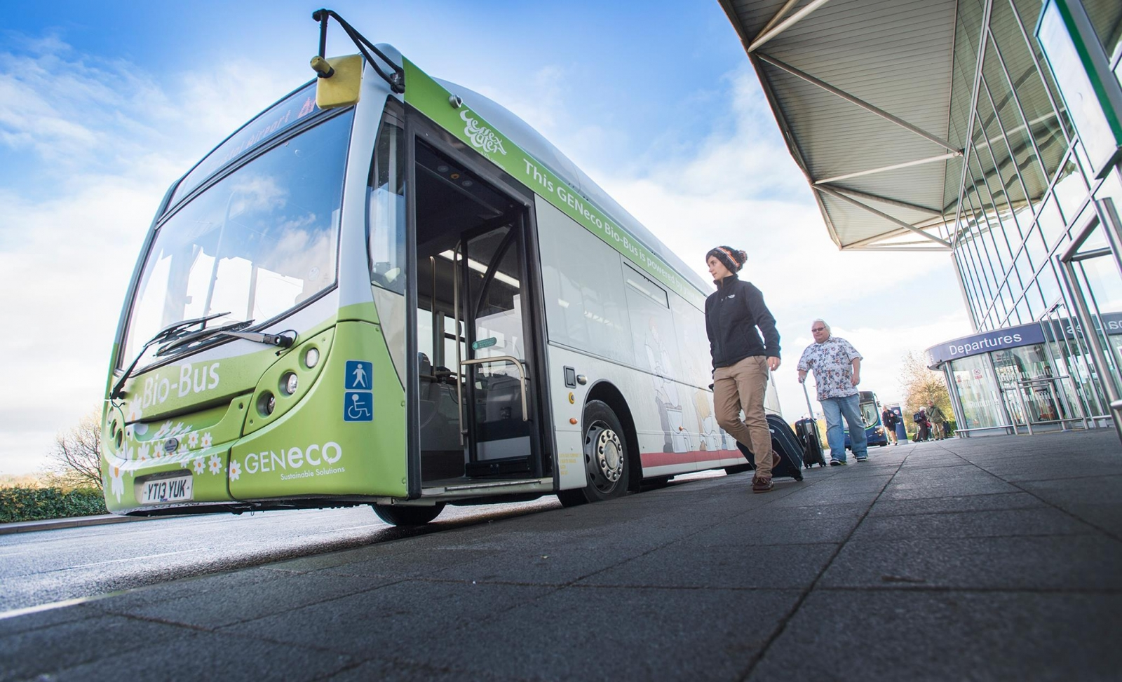 UK's First Poo-Powered Bus Takes to the Road