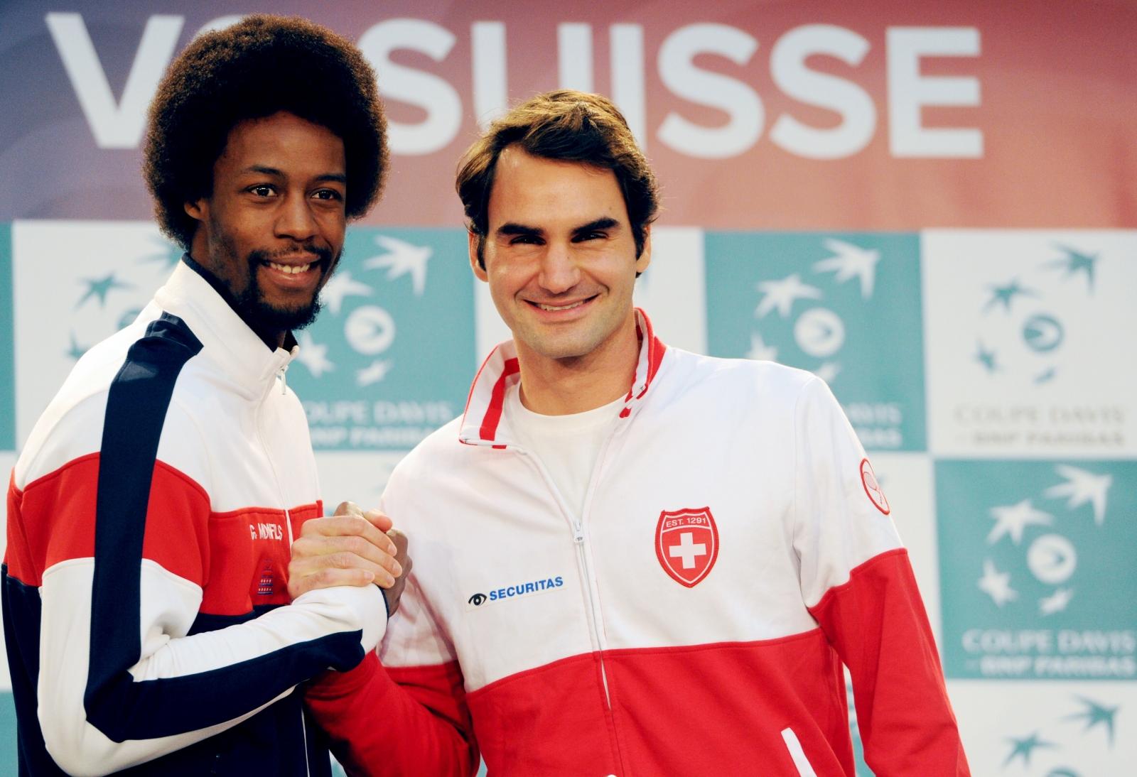 Monfils v Federer