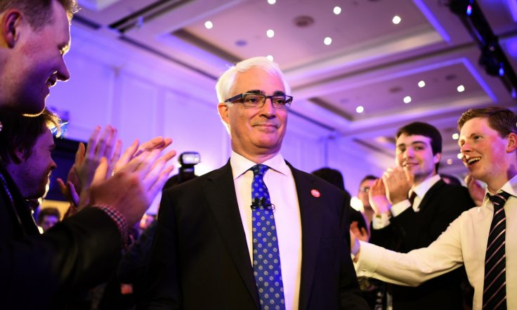 Darling, who returned to frontline politics to led the Better Together campaign to uphold the 307-union with England and Scotland, said the award was