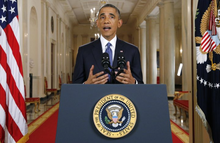 U.S. President Barack Obama announces executive actions on U.S. immigration policy