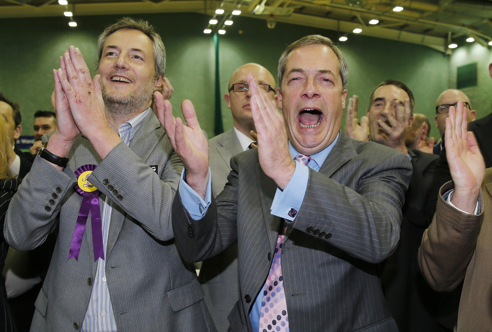 Farage at the Rochester by-election result