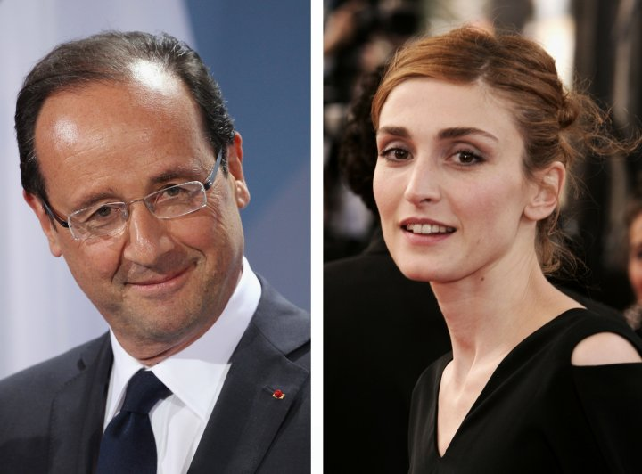 Francois Hollande Julie Gayet photos elysee palace