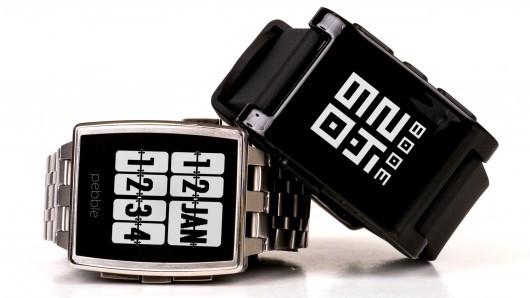 Best Smartwatch 2014 - Pebble Steel
