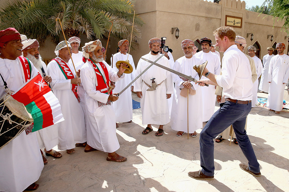 prince harry oman