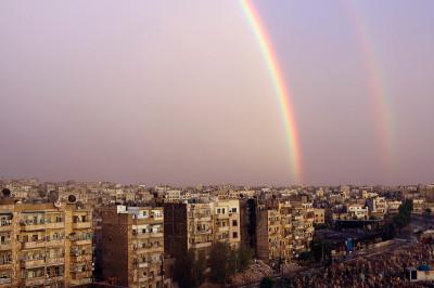 aleppo rainbow