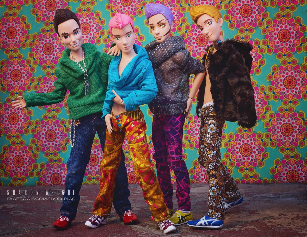 First Love: A line of 12-inch-high gay fashion dolls designed for gay males of all ages