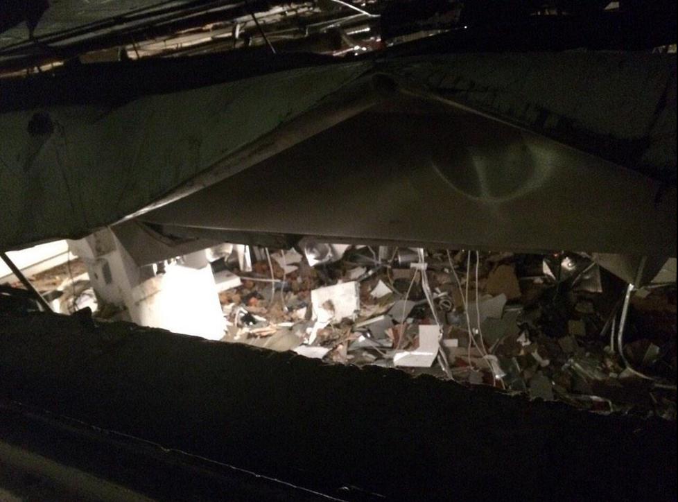 Hyatt explosion