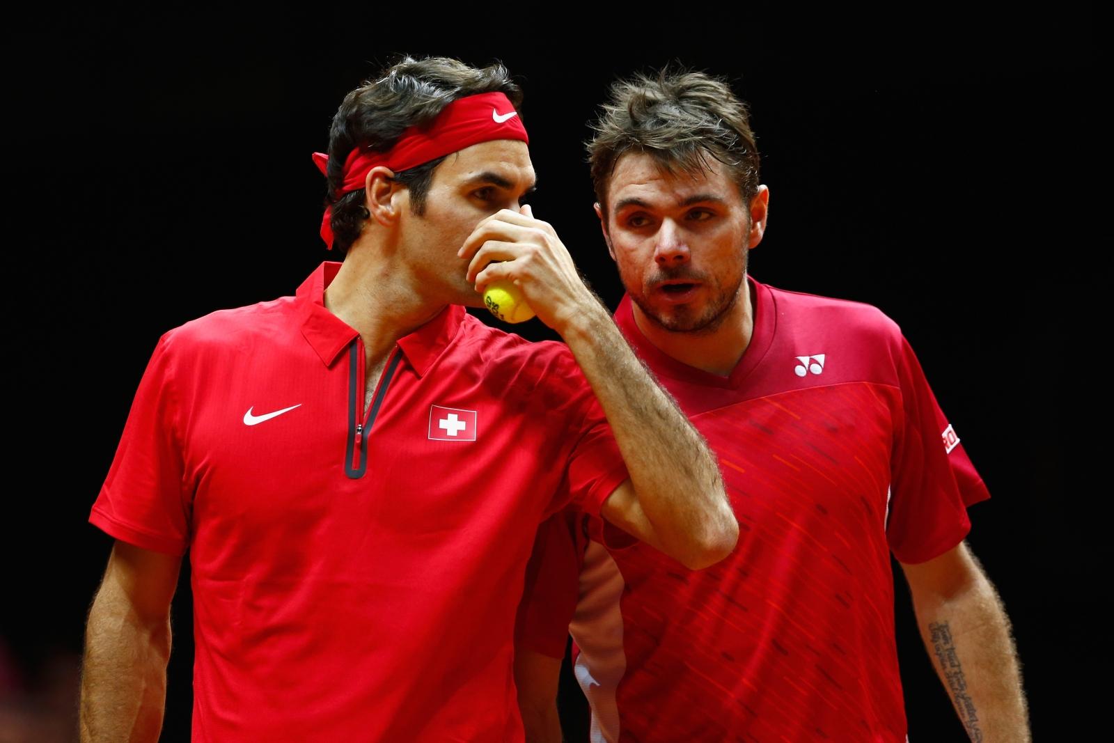 Federer and Wawrinka