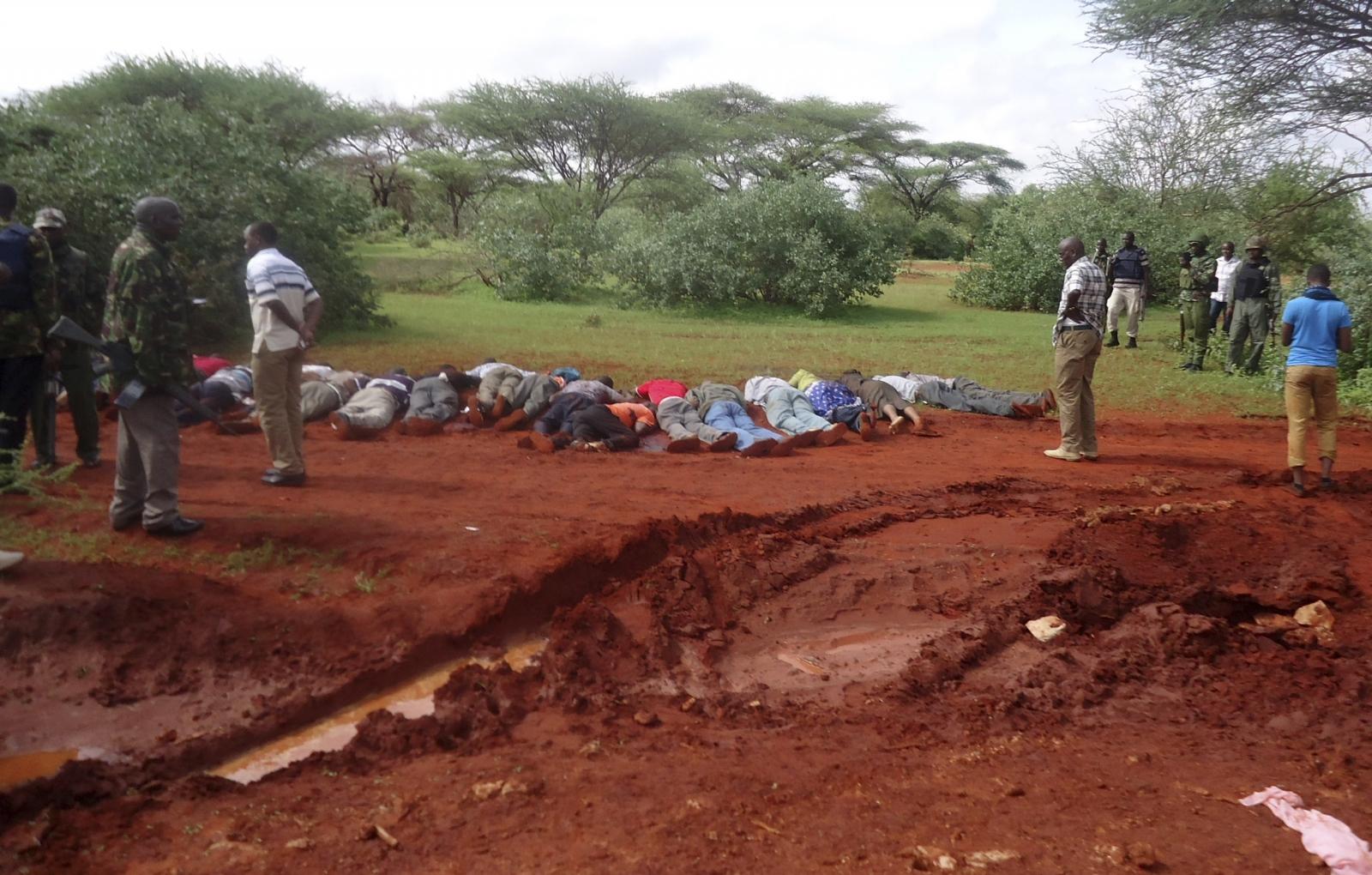 Kenya bus attack by al-Shabaab militants