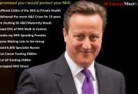 David Cameron suffers humiliation #cameronmustgo twitter trend