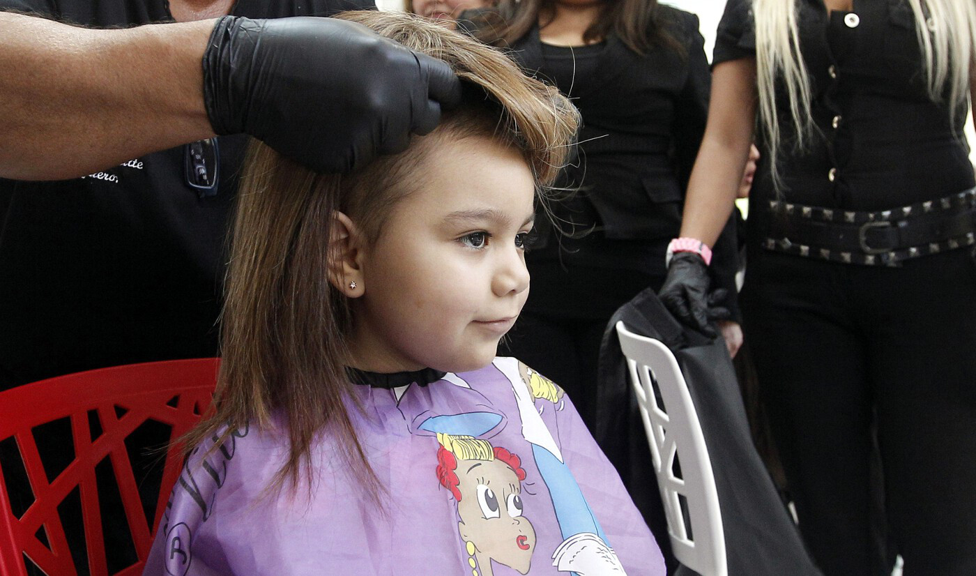 Childhood Cancer Wigs Chile 1
