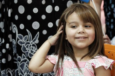 Childhood Cancer Wigs Chile 2