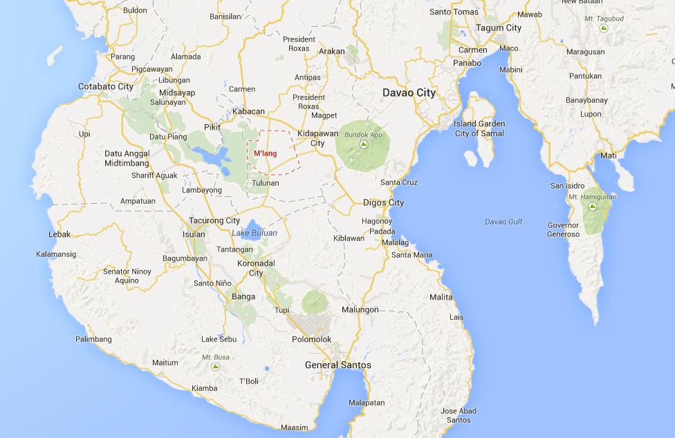 Mlang north corbato province bomb explosion terrorism philippines
