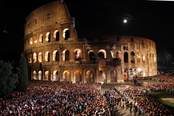 Two Thousand Years After Gladiators, Italy's Colosseum to