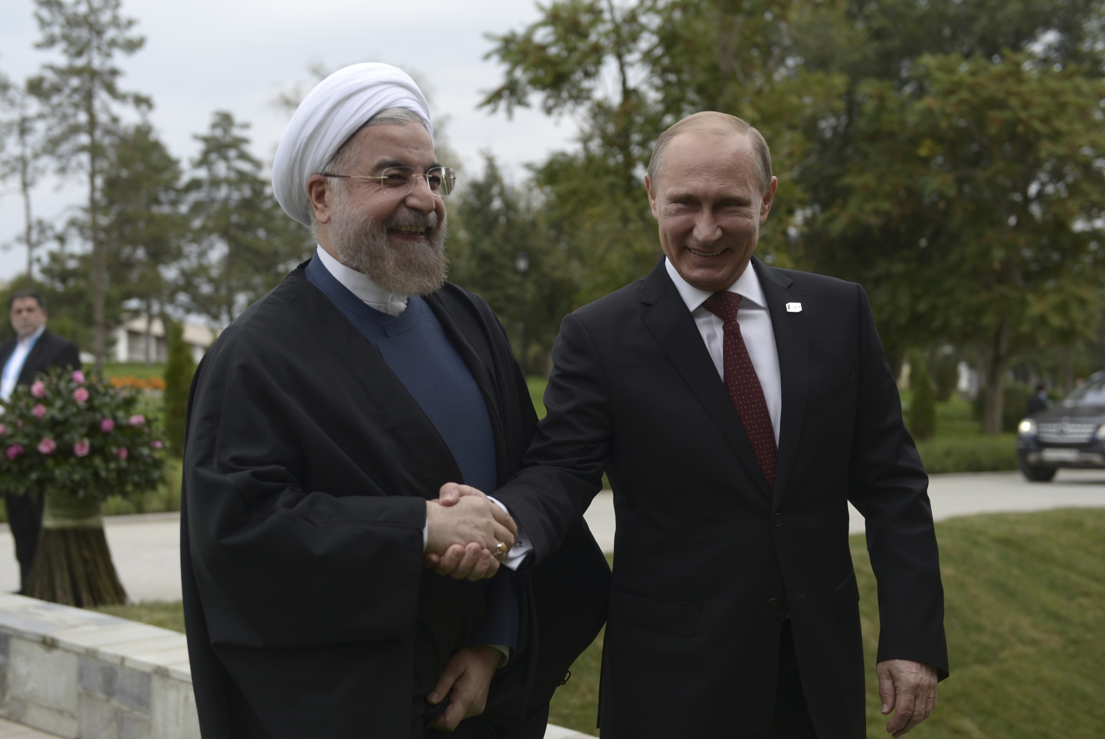 Putin and Rohani phone call
