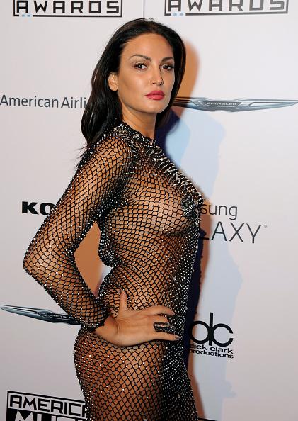 Bleona Qereti naked dress