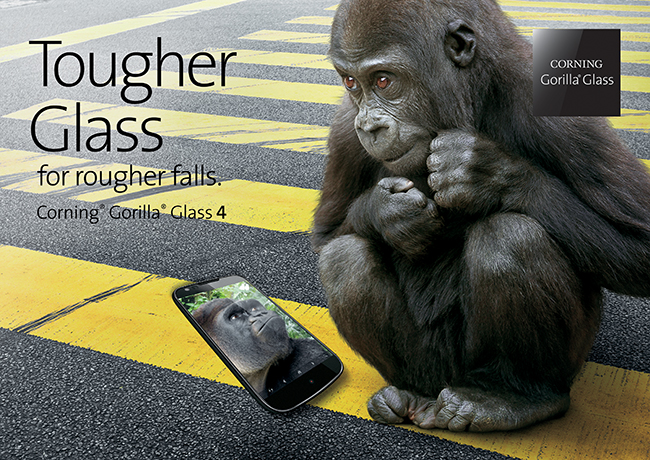 Corning Gorilla Glass 4 Officially Showcases: Your Smartphone Screens Will be Better Guarded against Damages