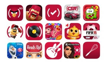 Apple Black Friday Deals- Apps for RED