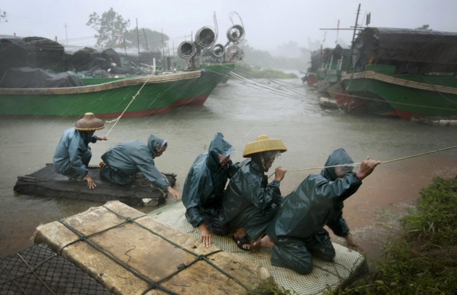 South China sea fisherman