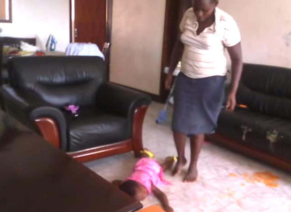 Uganda baby torture
