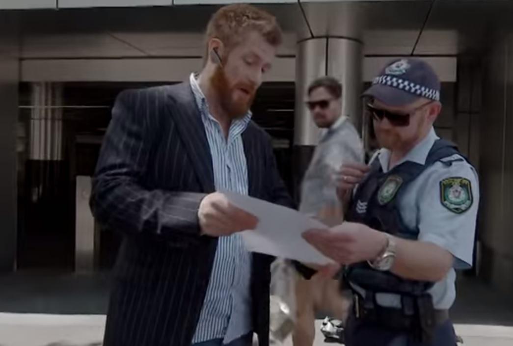 Uber Vigilante arrest Russell Howarth
