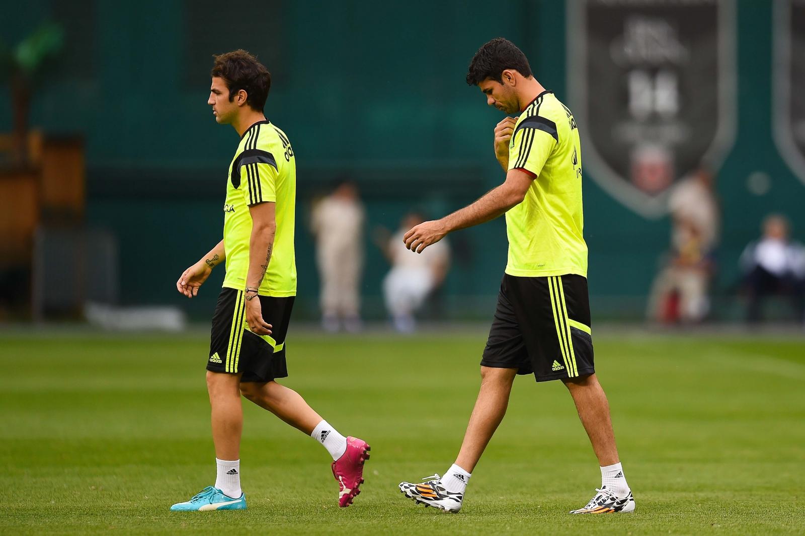 Fabregas and Costa