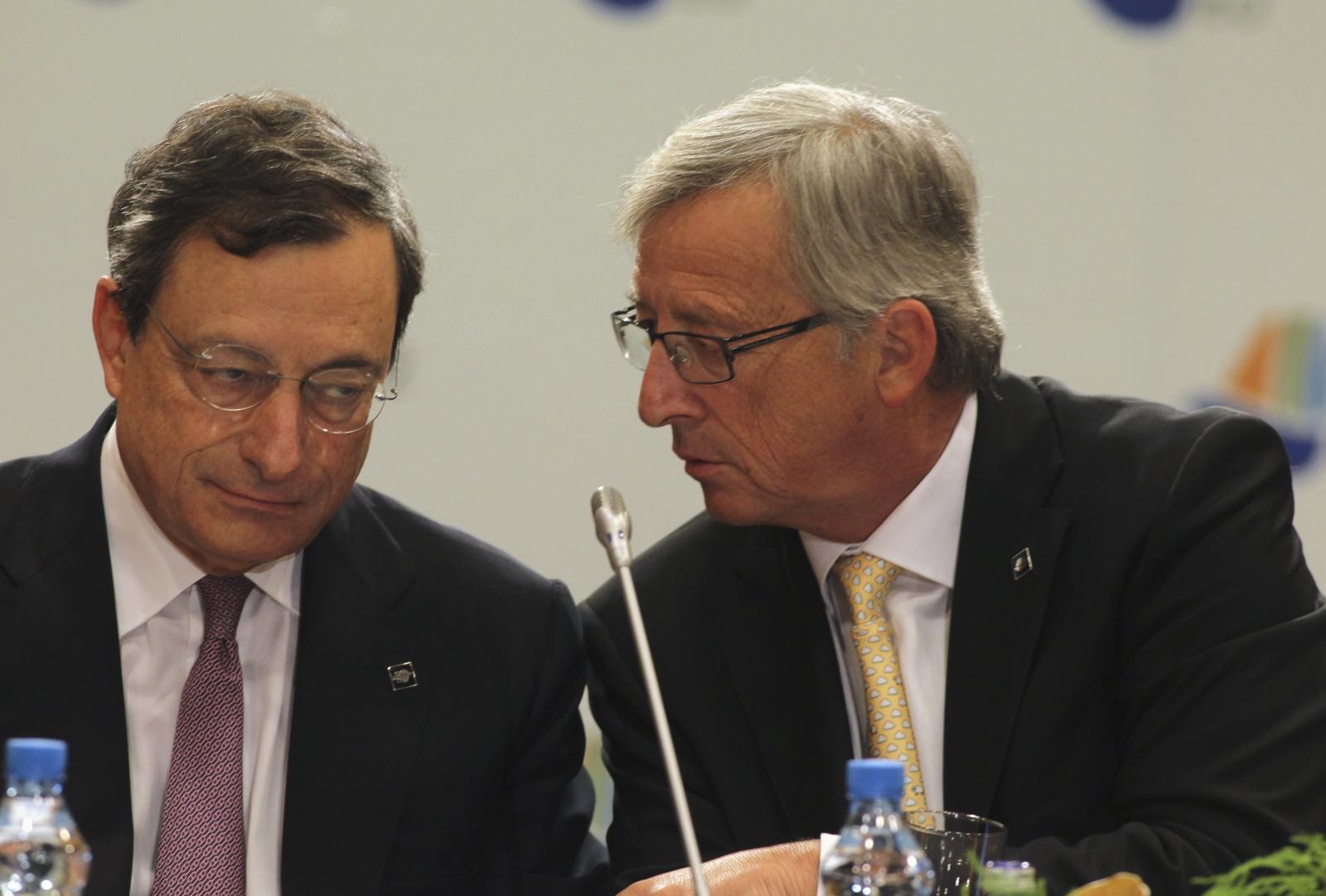 Juncker Draghi